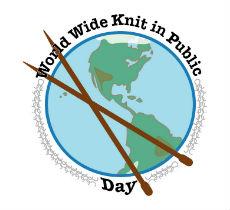 Světový den pletení logo